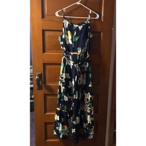 Floral Print Old Navy Maxi Dress